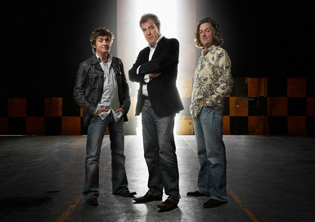Top Gear conductores