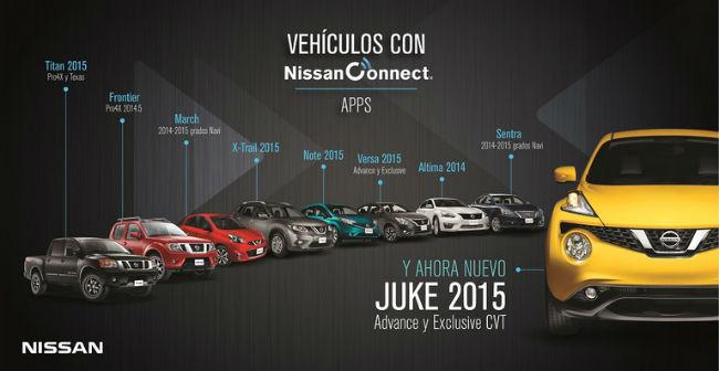 Vehiculos con NissanConect