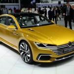 Volkswagen Sport Coupé GTE concept, vista frente-lateral