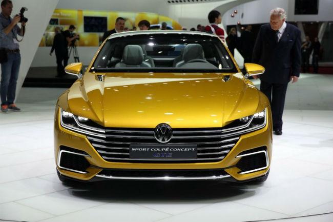 Volkswagen Sport Coupé GTE concept, en Ginebra 2015