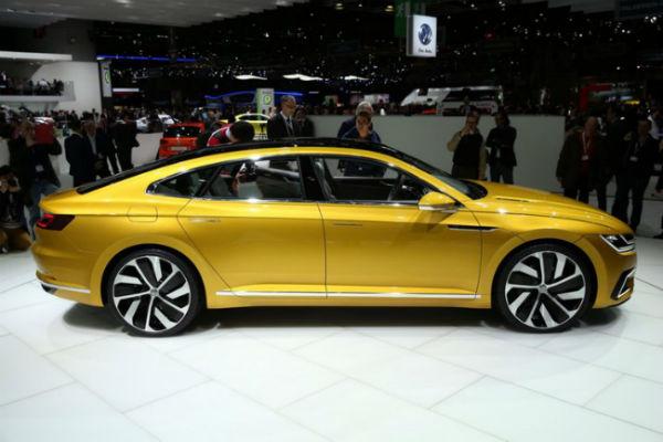 Volkswagen Sport Coupé GTE concept, vista lateral