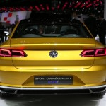 Volkswagen Sport Coupé GTE concept, vista trasera