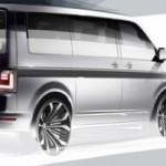Volkswagen T6 Transporter en imagen teaser previo a presentación en abril