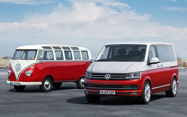 Volkswagen Combi, primera y sexta generación.
