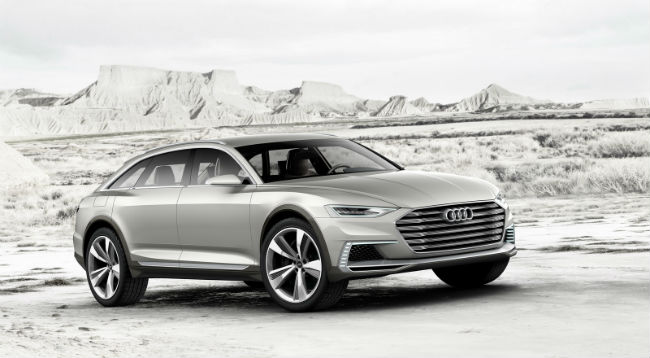 Audi Prologue Allroad frente