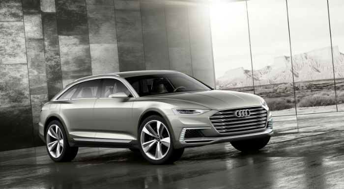 Audi Prologue Allroad salon