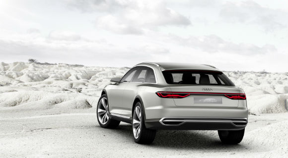 Audi Prologue Allroad vista trasera