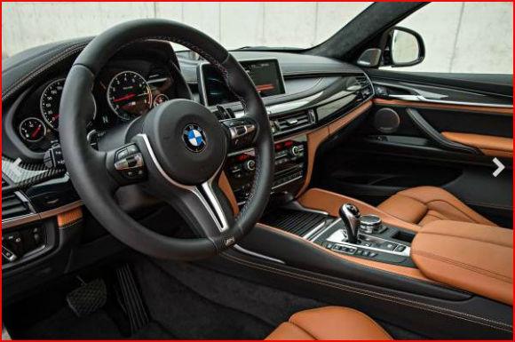 BMW X5 M frente interior