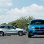BMW X5 M y BMW X6 M estatica