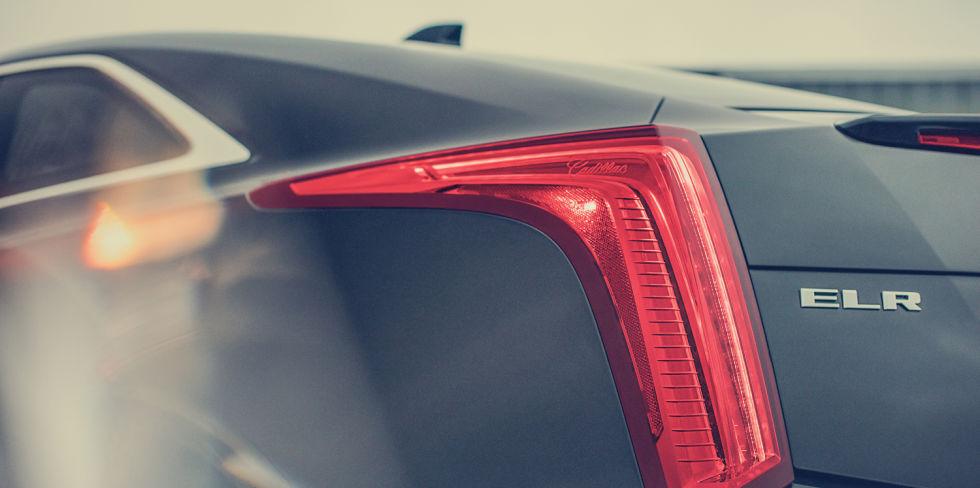 Cadillac ELR Coupe 2016 luces traseras