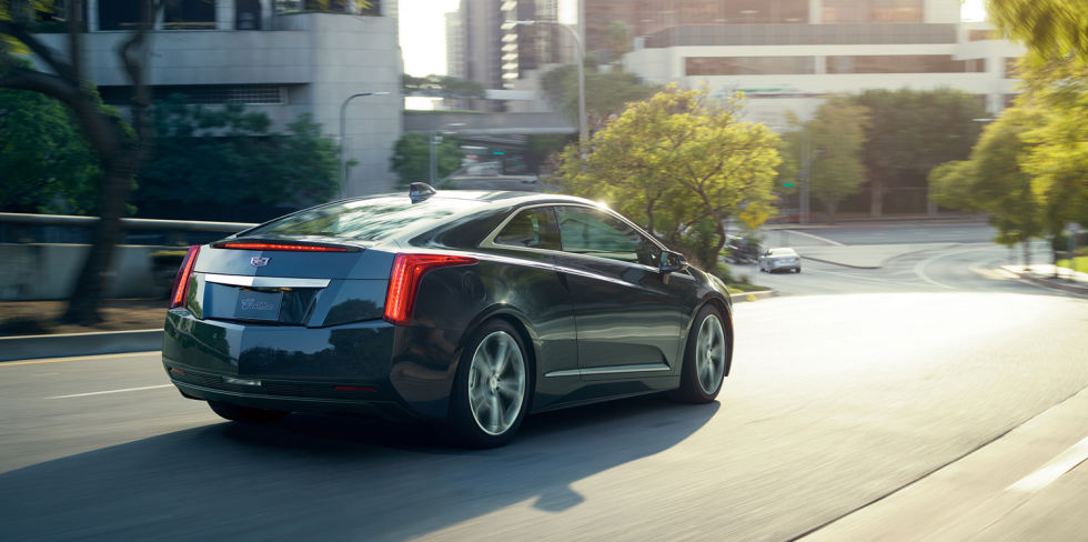 Cadillac ELR Coupe 2016 parte trasera