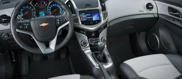 Chevrolet Cruze 2015 en México, interior