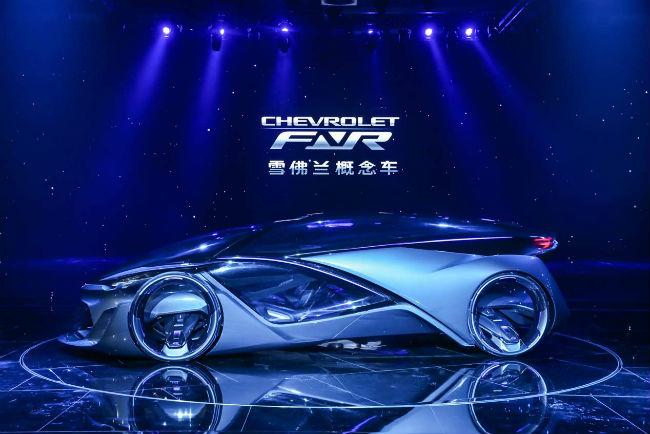 Chevrolet FNR desde Shanghái presentación