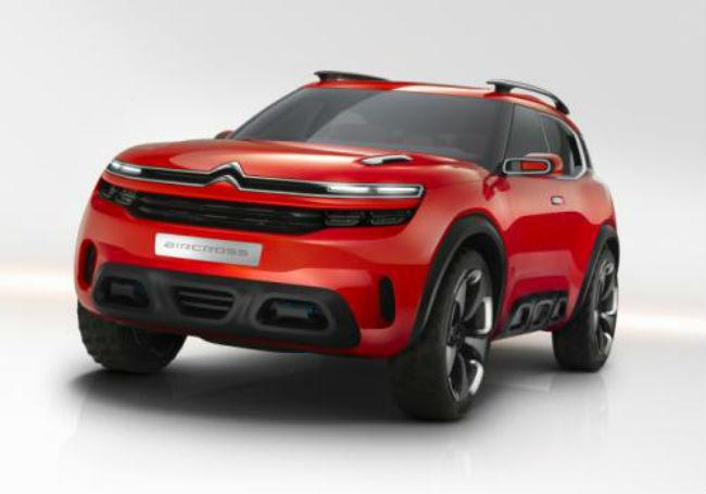 Citroën Aircross concepto frente