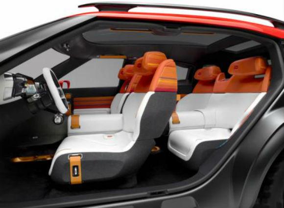 Citroën Aircross concepto interior