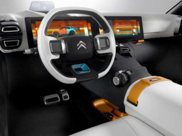 Citroën Aircross concepto tablero