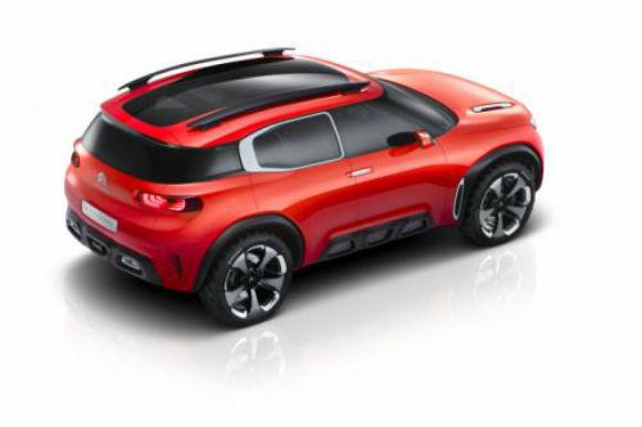 Citroën Aircross concepto vista-trasera