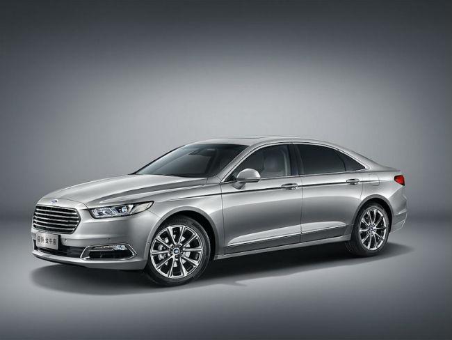 Ford Taurus para China, es-presentado