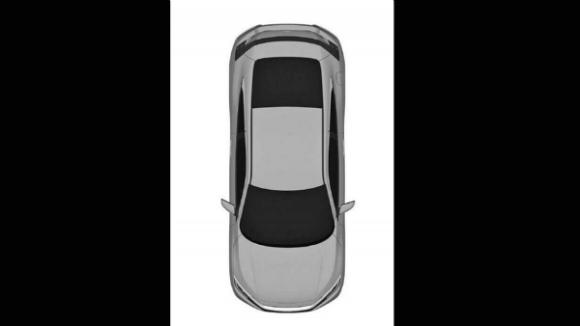 Honda Civic 2016 bocetos filtrados vista-superior