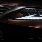 El Lexus ES 2016 en primer imagen teaser previo a Shanghái
