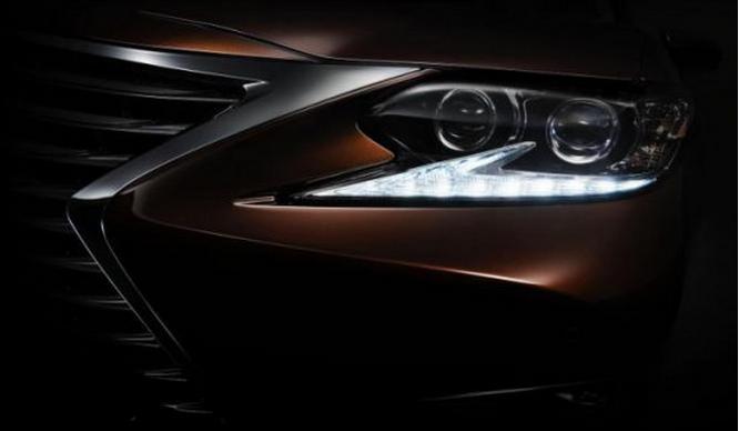 Lexus ES 2016 primera imagen teaser
