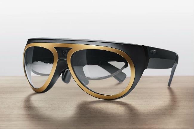 Mini lentes de realidad aumentada