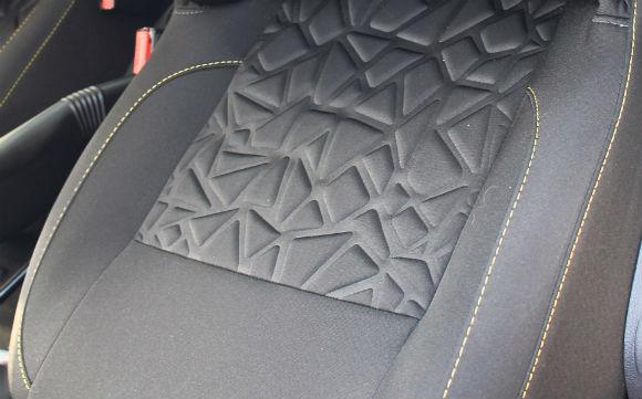 Renault Duster Outdoor 2015 Edicion Limitada asientos