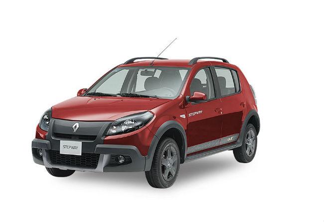 Renault Stepway Outdoor 2015 Edicion Limitada en rojofuego