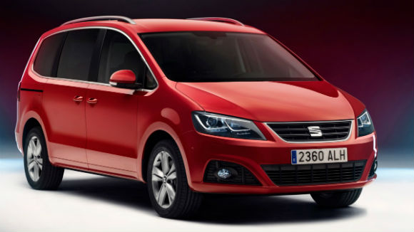 SEAT Alhambra 2015 lateral