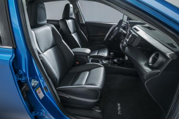 Toyota RAV4 Hybrid presentación Nueva York asientos