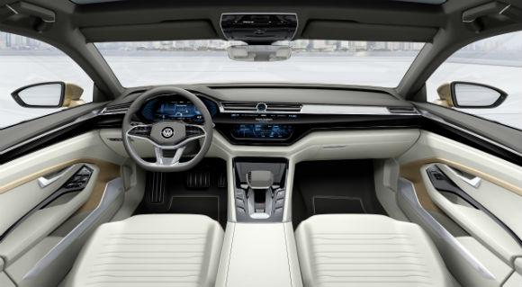 Volkswagen C Coupe GTE interior
