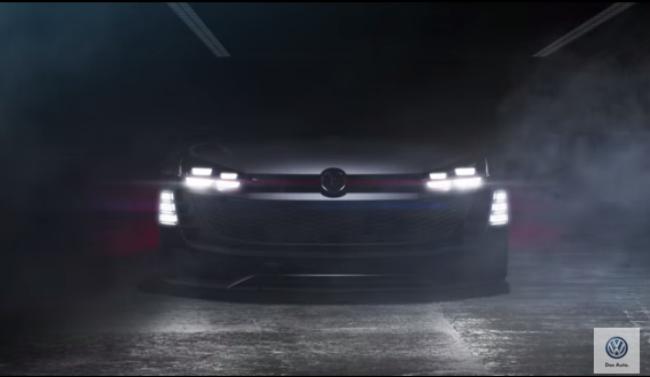Volkswagen GTI Vision Gran Turismo imagen de video teaser