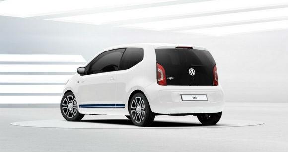 Volkswagen Jeans Up vista trasera