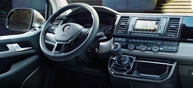 Volkswagen pantalla táctil gestual en modelo T6