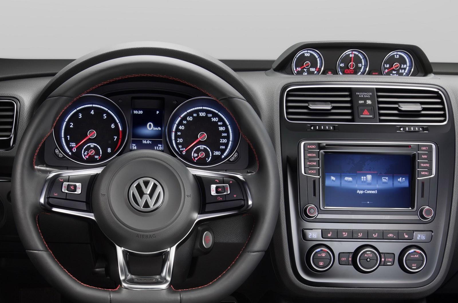 Volkswagen Scirocco GTS 2015 volante
