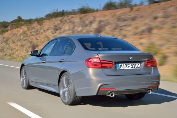 BMW Serie 3 parte trasera