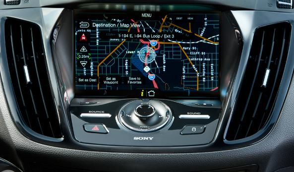 Ford Escape 2015 pantalla interior