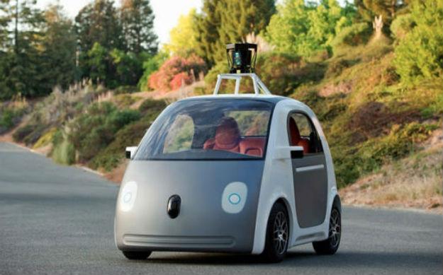 Google prototipo de vehículo autónomo