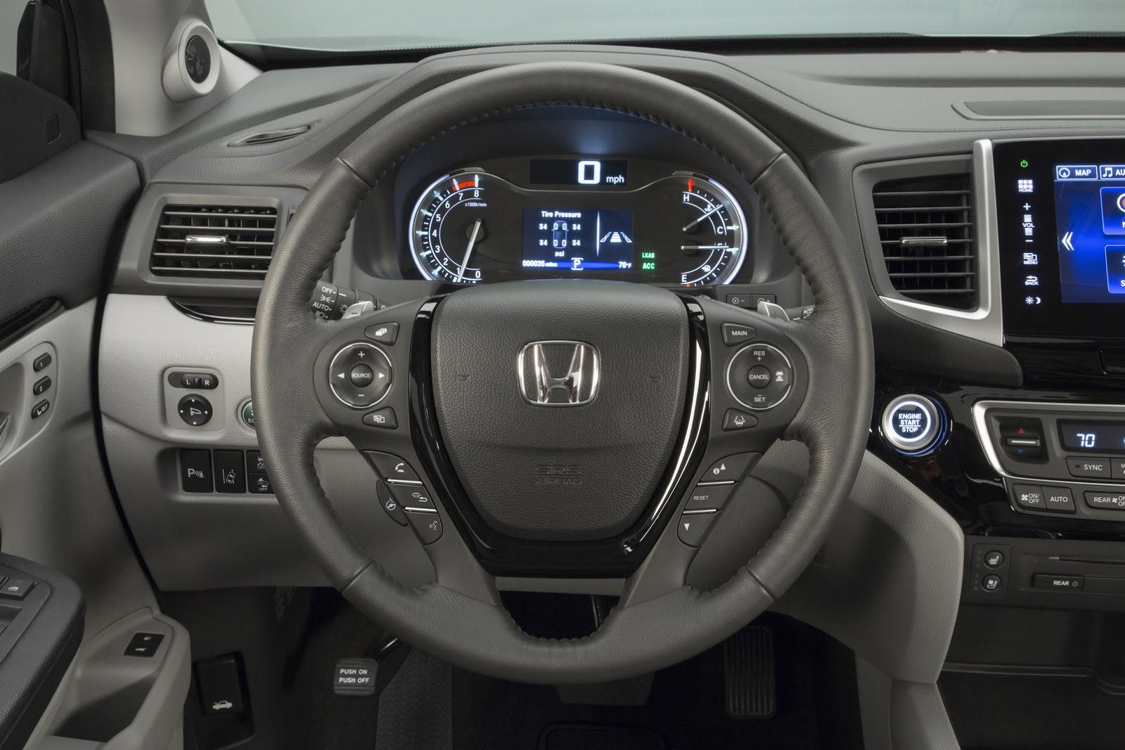 Honda Pilot 2016 volante