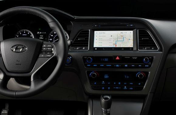 Hyundai Sonata con Android Auto, mapas