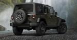 Jeep Wrangler Willys 2015 parte trasera