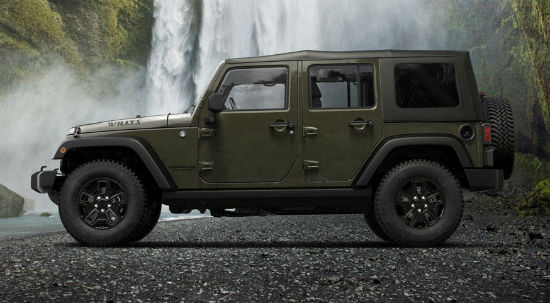Jeep Wrangler Willys 2015