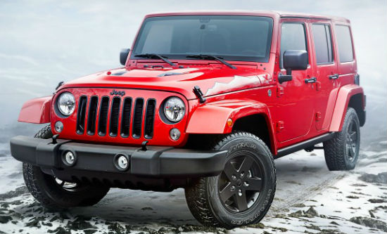 Jeep Wrangler X Edition 2015