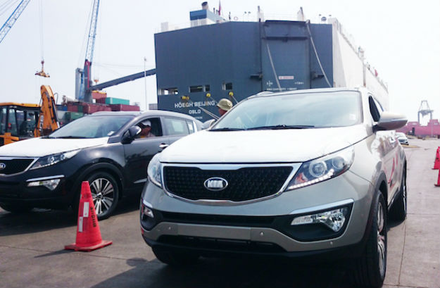 KIA Sportage llega a puerto de México