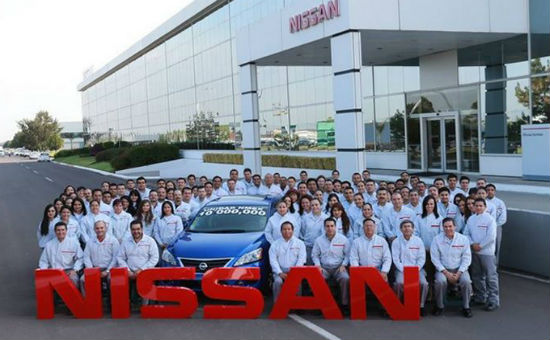 Nissan 10 millones de unidades en México