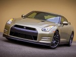Nissan GT-R 45th Anniversary Gold Edition frontal