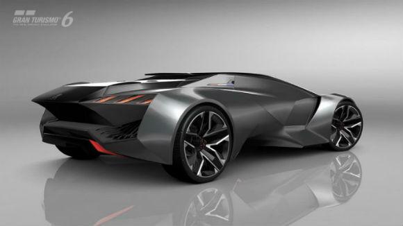 Peugeot Vision Gran Turismo vista trasera