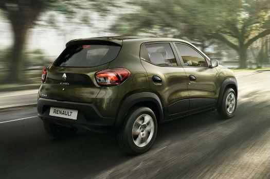 Renault Kwid vista-trasera