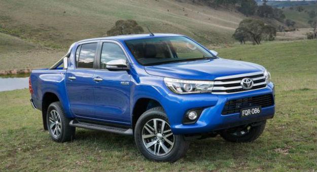 Toyota Hilux 2016 exterioir