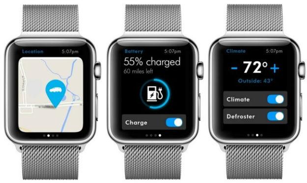 Volkswagen Car-Net para Apple Watch